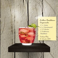 Strawberry Basil Caipi