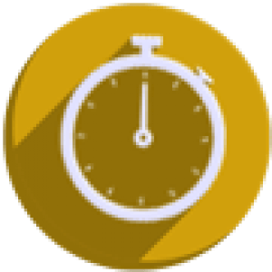 round-icon-left-time-90
